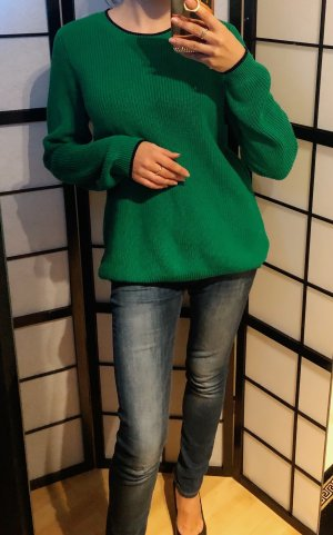 100% Fashion Crewneck Sweater green
