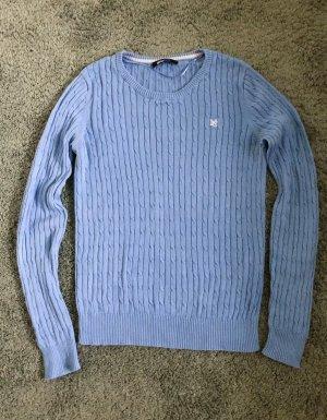 Schöner Pullover in himmelblau Gr. M