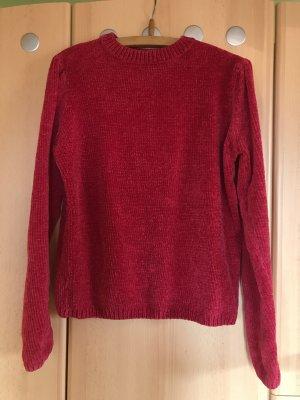 Schöner Pullover in Magenta