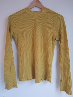 Schöner Pullover in tollem Gelbton