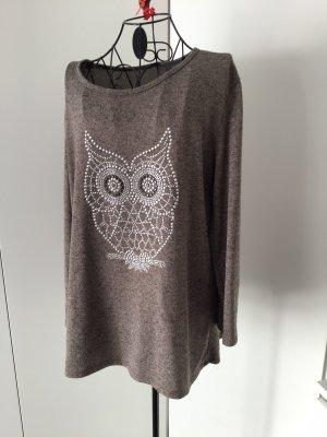 0039 Italy Sweter z okrągłym dekoltem Wielokolorowy