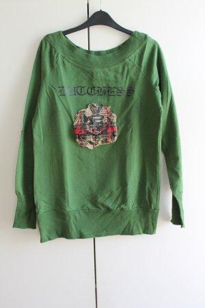 Schöner Pullover mit Rundhalsausschnitt