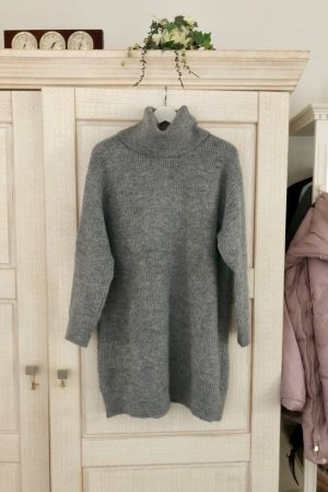 Mango Long Sweater grey
