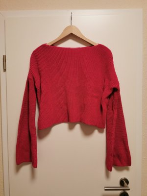 Nakd Crochet Sweater pink