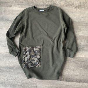 Schöner Pullover von Zara Khaki -Camouflage - oversized Gr. M