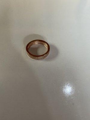 amor Zilveren ring roségoud-zilver