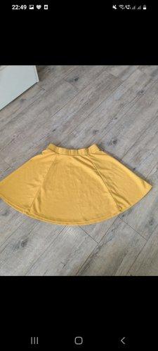 Skaterska spódnica żółty-złotopomarańczowy