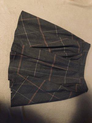 Mohito Plisowana spódnica jasnoszary-biały