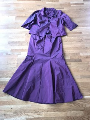 Ladies' Suit lilac polyester