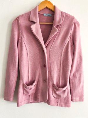 schöner rosaner Stoffblaser von VIntage- Himmelblau.