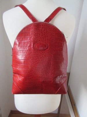 Mulberry Crossbody bag dark red-red leather