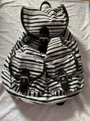 H&M Sac de sport blanc-noir