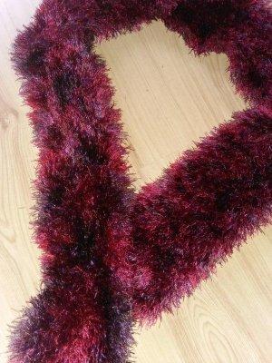 Handarbeit Fringed Scarf multicolored mixture fibre