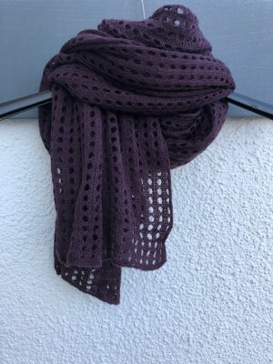 Opus Scarf purple-blackberry-red