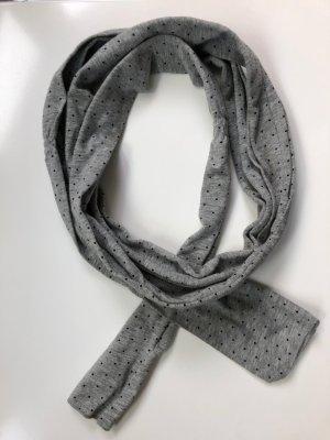 Schöner schmaler Schal von ESPRIT - grau/schwarz