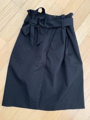 H&M Falda tulipán negro