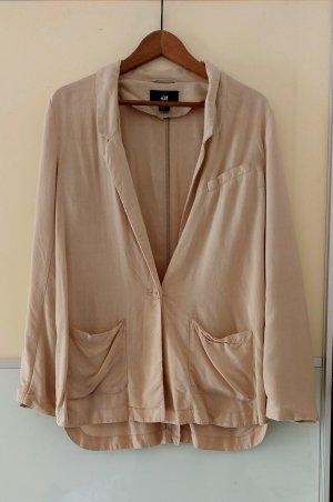 Hennes Collection by H&M Klassischer Blazer beige claro-rosa