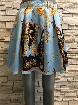 Spódnica w kształcie tulipana Wielokolorowy
