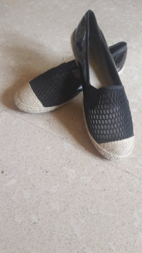 Slip-on Shoes black-oatmeal
