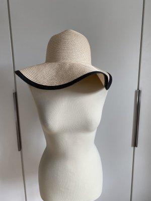 Pieces Sun Hat cream-black