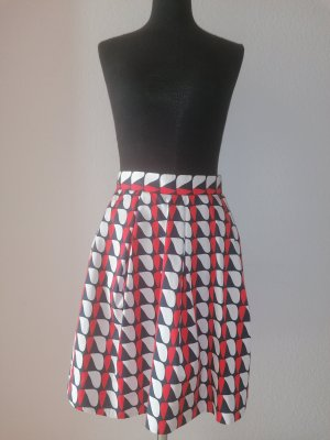 COS Plaid Skirt multicolored cotton