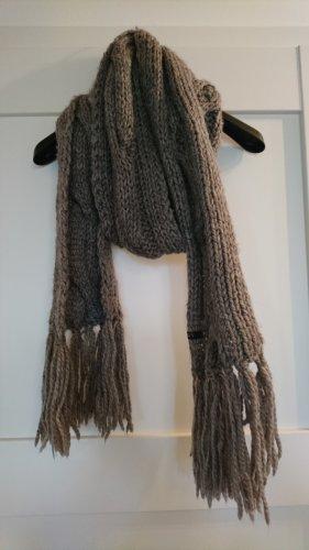 Apart Gebreide sjaal grijs