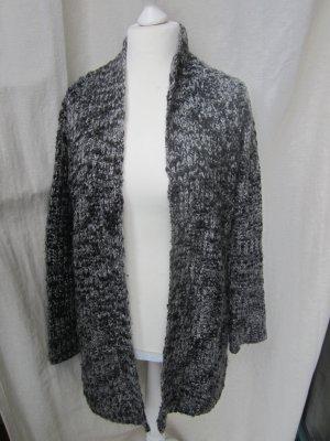 Broadway Cardigan in maglia nero-grigio