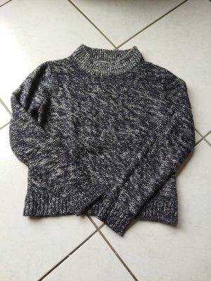 C&A Clockhouse Knitted Sweater light grey-dark blue