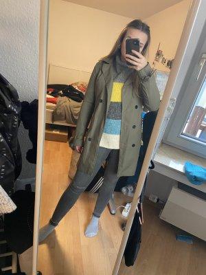Costes Long Jacket green grey