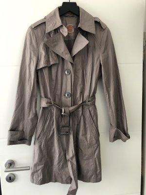 Schöner Trenchcoat Gr.40 in grau