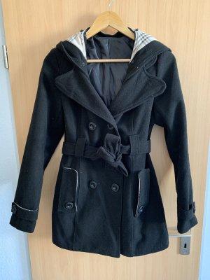 Płaszcz z kapturem Wielokolorowy