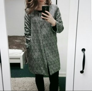 H&M Gabardina tipo vestido multicolor