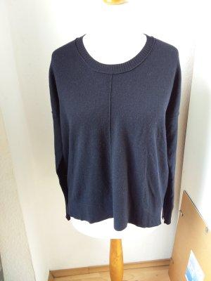 Gabrini Pull en laine noir laine