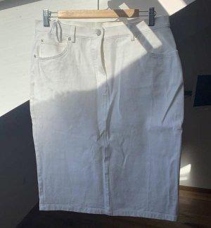 Schöner weißer Jeansrock Madeleine