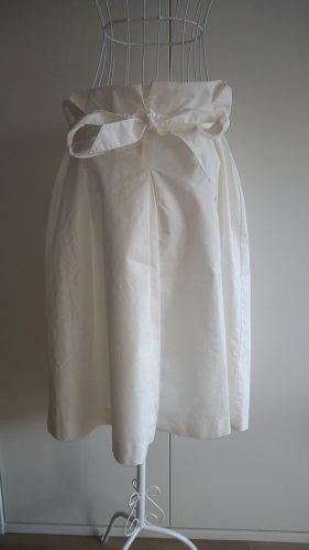 Ashley Brooke Midi Skirt white