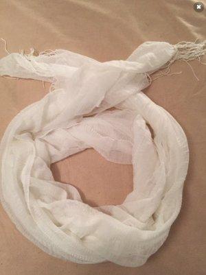 Écharpe d'été blanc