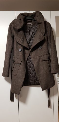Orsay Coat Dress grey brown