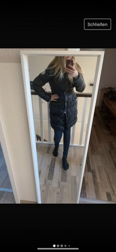 Płaszcz zimowy czarny