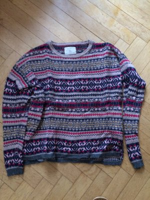Springfield Maglione di lana grigio