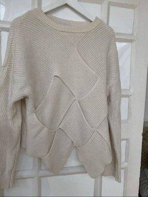 & other stories Wełniany sweter w kolorze białej wełny