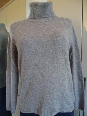 Bogner Maglione dolcevita grigio chiaro-grigio Lana