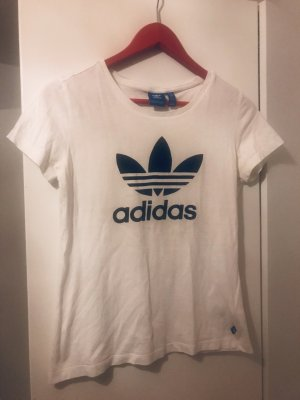 Adidas T-shirt noir-blanc