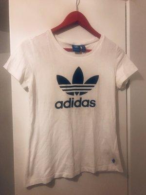 Adidas Camiseta negro-blanco