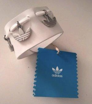Adidas Bransoletka biały-srebrny