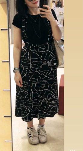 Schönes Asos Trägerkleid Muster Print Midikleid Kleid