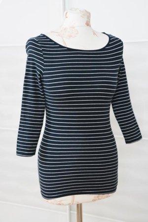 schönes Basic Shirt gestreift Marinelook Gr. XS