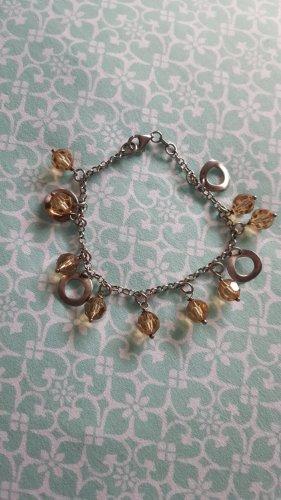 Christ Charm Bracelet silver-colored
