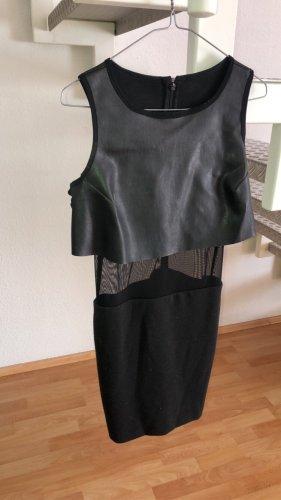Aqua Cut Out Dress black