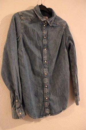 H&M Jeansowa koszula błękitny-jasnoniebieski