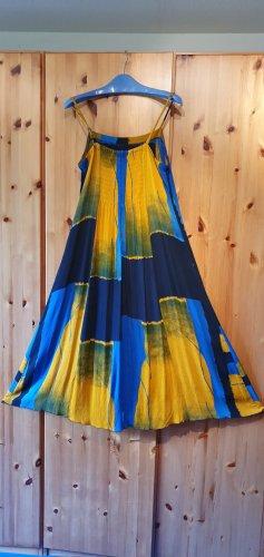 Campur Vestido Hippie multicolor Viscosa